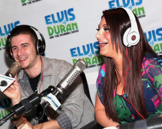 "Vinny & Deena Nicole on Filming Jersey Shore: ""It's Nothing but Each Other and Alcohol"""
