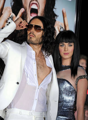 Russell Brand Gushes About Katy Perry to Ellen DeGeneres
