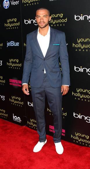 "Jesse Williams on the ""Depressing"" Grey's Anatomy Season 8 Departures"