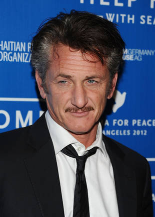 "Sean Penn and Petra Nemcova Dating Again? Couple ""Very Much"" Together at Bono's Birthday Party"
