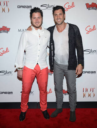 Maks and Val Chmerkovskiy Hang at the Maxim Hot 100 Party: Double the Hotness! (PHOTO)