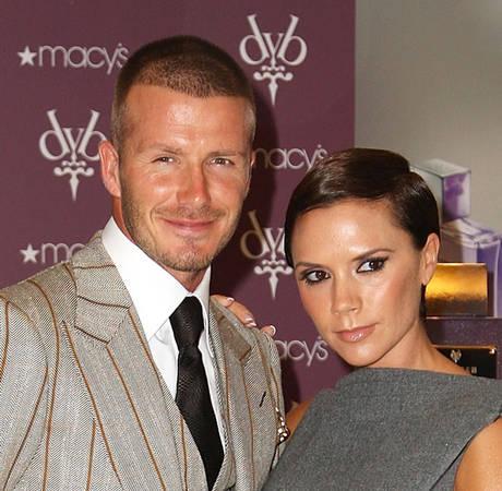 Victoria and David Beckham Caught on KissCam
