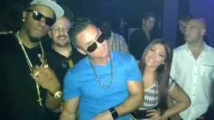 Friends Again? Jersey Shore's Deena Nicole and The Situation Hang Out (PHOTO)