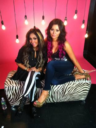 Whoa: JWOWW Dyes Her Hair Hot Pink! (PHOTO)