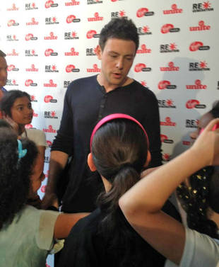 Cory Monteith's Summer Project: Giving Back to the Community – With Help From Cell Phones?