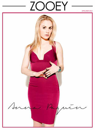 Anna Paquin Poses For Zooey Magazine Cover, Talks Privacy and Bisexuality