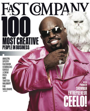 The Voice's Cee Lo Green Named One of 100 Most Creative People in Business