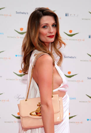 Mischa Barton Shows Side-Boob in a Sexy Cut-Out Dress (PHOTO)