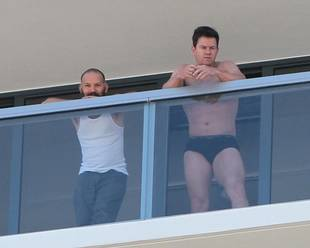 Studly Mark Wahlberg Poses in His Underwear…Again (PHOTO)