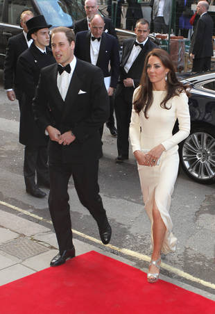 Kate Middleton Gets in on the Trend: That's a Whole Lotta Leg! (PHOTO)