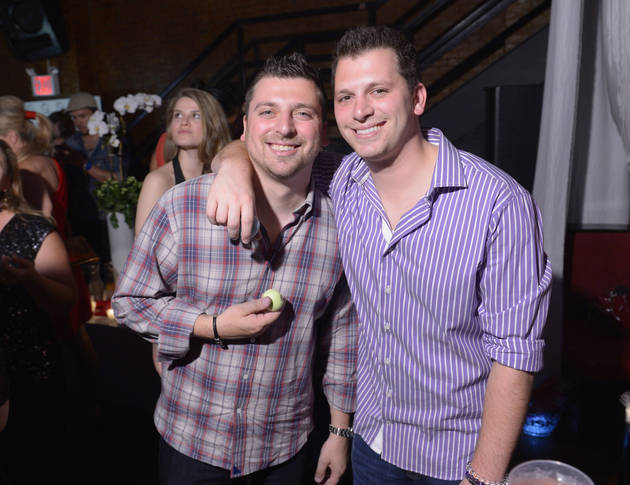 Chris and Albie Manzo Party in New York City (PHOTO)