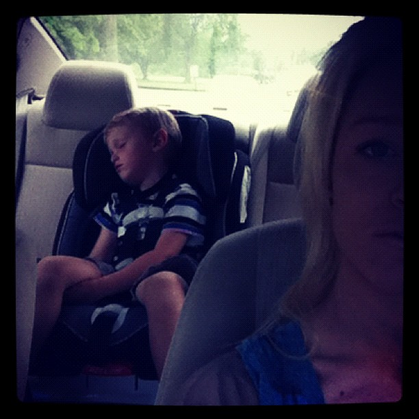Cute Teen Mom Pic of the Day: Bentley Gets Some Zzzzs