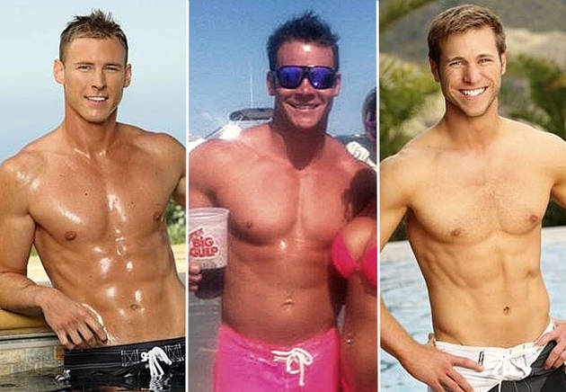 Vienna's Exes Jake and Kasey Take on Her Boyfriend in a Three-Way Battle of the Abs
