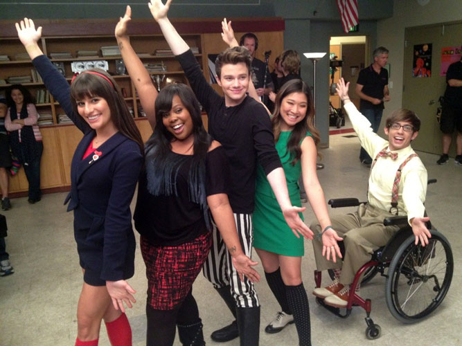Glee's Original Five: Then and Now! How Have They Changed? (PHOTO)