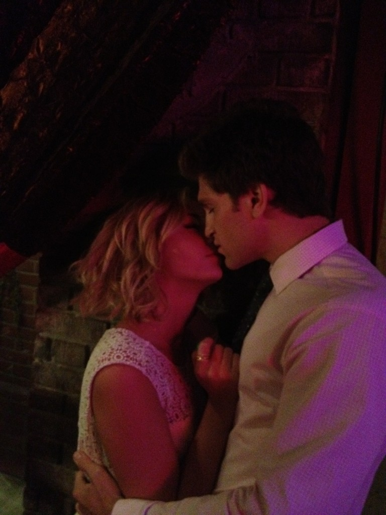 Keegan Allen And Ashley Benson Kissing Ashley Benson and Keegan Allen