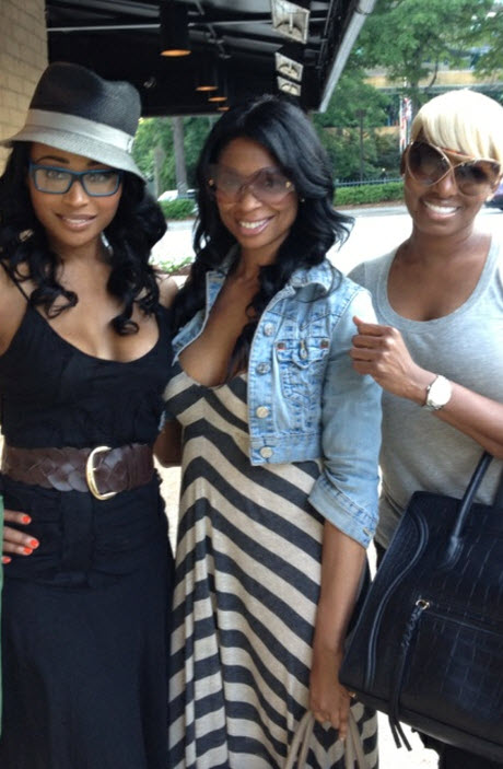 NeNe Leakes Hangs Out With Cynthia Bailey and Jennifer Williams (PHOTO)