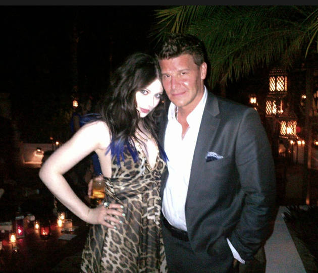 David Boreanaz and Michelle Trachtenberg's Buffy Reunion — Hot Pic of the Day!