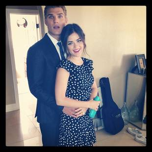 "Aww: Lucy Hale and Boyfriend Chris Zylka's ""Prom Pic"" (PHOTO)"