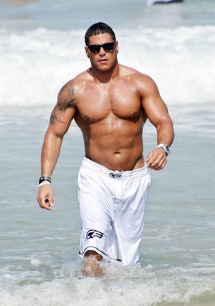 Jersey Shore's Ronnie Is Buffer Than Ever: Has He Gone Too Far? (PHOTO)