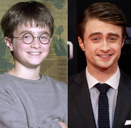 Happy Anniversary, Harry Potter! Daniel Radcliffe Then and Now (PHOTOS)