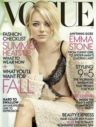 Emma Stone Is Dead Sexy on the July 2012 Cover of Vogue (PHOTO)
