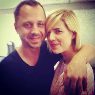 Agyness Deyn and Giovanni Ribisi Get Married! In Related News, They Were Dating!