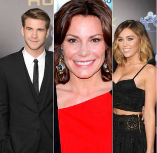 RHONY's Countess LuAnn Approves of Miley Cyrus & Liam Hemsworth's Early Engagement