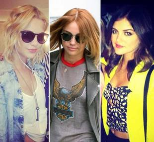 Who Rocks It Best? Miley Cyrus, Ashley Benson, and Lucy Hale Get Short Haircuts (PHOTOS)