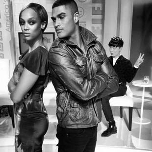 Tyra Banks Poses With Rob Evans, New ANTM Judge and Rumored Boyfriend (PHOTO)
