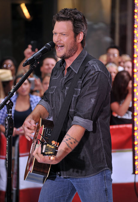 """Go Behind the Scenes of Blake Shelton's New Music Video For """"Over"""""""