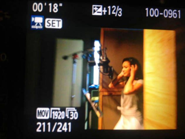 Glee's Naya Rivera Tweets About Recording Her First Album (PHOTO)