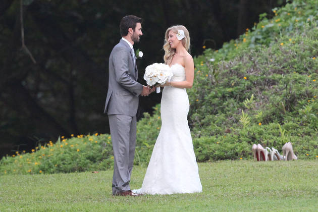 Watch! Brandon Jenner and His New Wife Leah Premiere New Music Video
