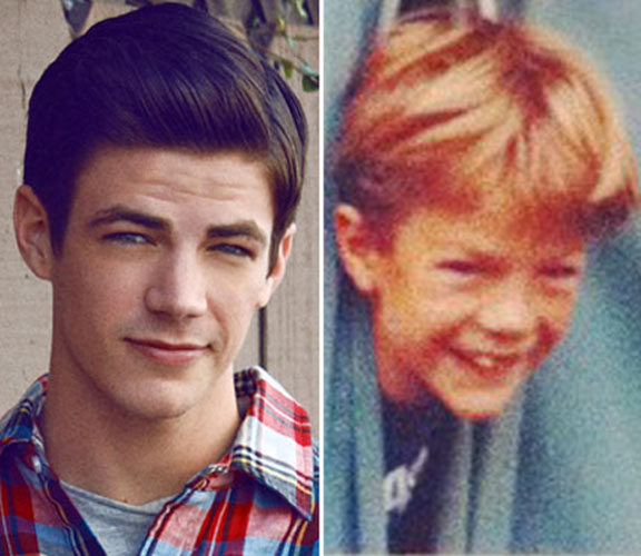 What Did Glee's Grant Gustin Look Like as a Child? (PHOTOS)