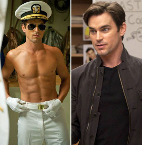 Blaine's Brother: Is That You?! Matt Bomer Goes Sexy and Shirtless in Magic Mike (PHOTO)