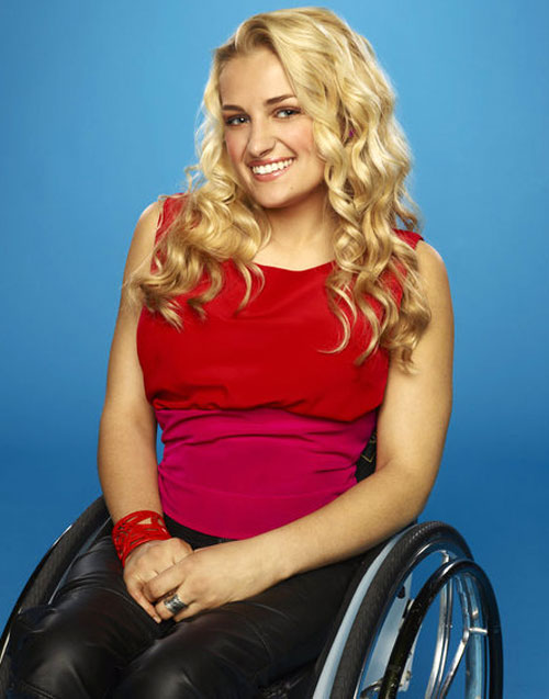 Which Bombshell TV Star is Rooting for Ali Stroker on The Glee Project 2?