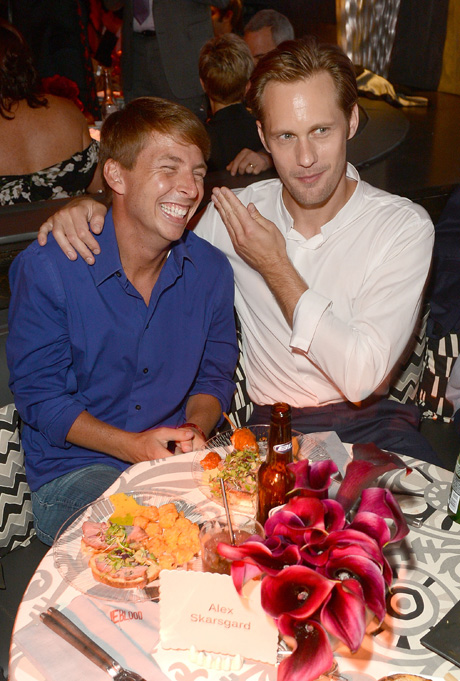 WTF? Eric Northman and Kenneth the Page, Together at Last (PHOTO)
