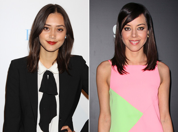 Celebrity Lookalikes: The Voice's Dia Frampton and Parks and Recreation's Aubrey Plaza (PHOTOS)