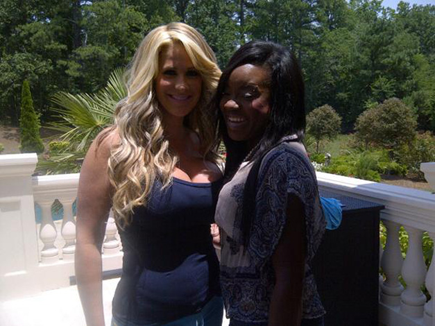 "Kim Zolciak Says Sweetie Hughes Is ""Family"""