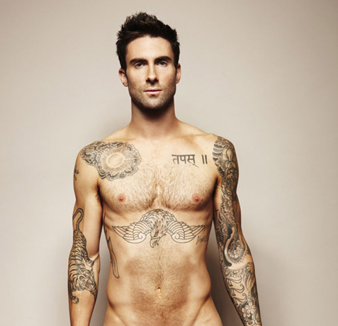 The Voice's Adam Levine Named One of Music's Sexiest Men