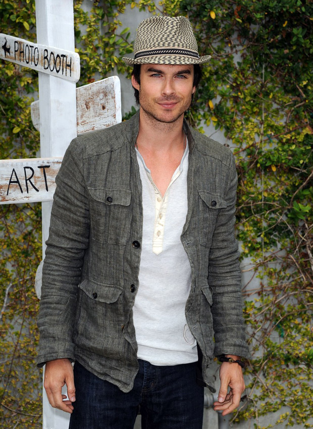 Ian Somerhalder Causes a Panic by Suggesting He Might Not Audition For Fifty Shades of Grey