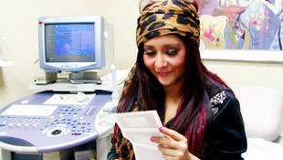 Jersey Shore's Snooki Goes to Her First Ultrasound