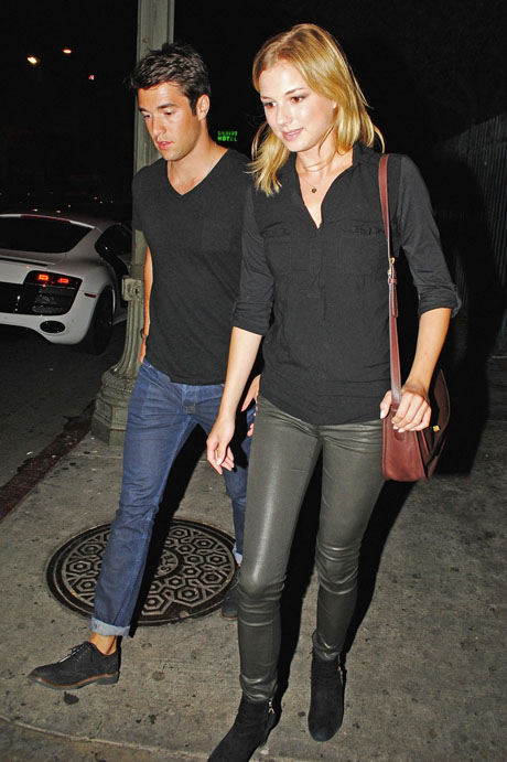 Revenge Couple Emily VanCamp and Josh Bowman Spotted Clubbing in Los Angeles (PHOTO)
