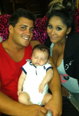 This Is What Snooki and Jionni Will Look Like as Parents (PHOTO)