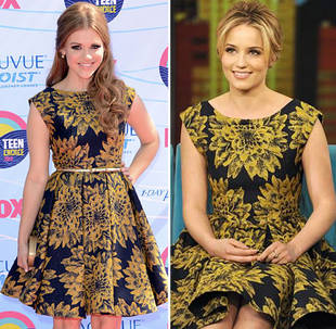 Glee's Dianna Agron vs. Teen Wolf's Holland Roden in Alive + Olivia: Who Wore It Best?