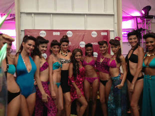 Christina Milian Debuts Her Swimwear Collection at Miami Swim Fashion Week (PHOTOS)