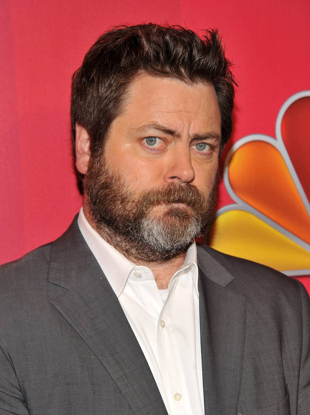 Nick Offerman Reads Tweets From Your Favorite Young Female Celebs: Hilarious! (VIDEO)