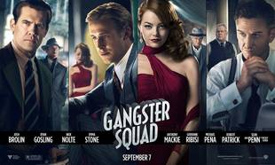 Ryan Gosling and Emma Stone Take Center Stage in New Gangster Squad Poster