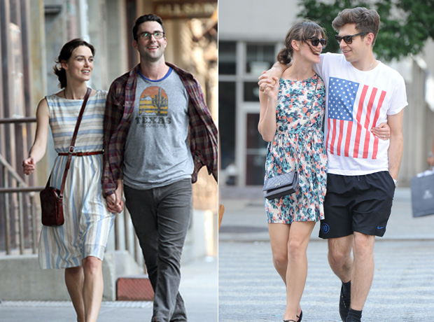 Adam Levine Spotted Holding Hands With Keira Knightley in NYC! (PHOTOS)