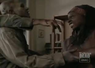 The Walking Dead Season 3 Sneak Peek: Michonne, Her Katana, and Three Dead Zombies (VIDEO)