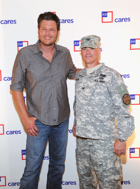 Blake Shelton Named JCPenney's Care Ambassador! (Have They Read His Twitter?) (PHOTOS)